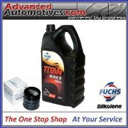 Silkolene Titan PRO R 15W-50 Ester Synthetic Oil 5 Litres For High Performance Engines & Oil Filter